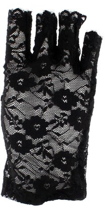 Zac's Alter Ego® Zac's Alter Ego 80s Style Short Lace Fingerless Gloves