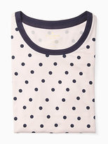 Kate Spade Long sleeve printed sleepshirt