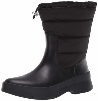 Cole Haan Women's Pinch Utility Puffer Boot Waterproof Mid Calf