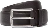 Ermenegildo Zegna - 3cm Brown Snakeskin Belt