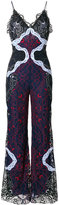 Jonathan Simkhai lace flared jumpsuit - women - Silk/Cotton/Nylon/Polyester - 6