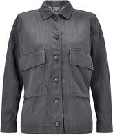 Jigsaw Linen Mix Shirt Jacket