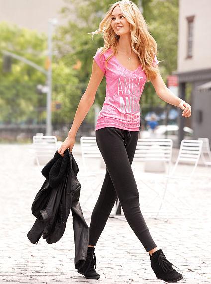 Victoria's Secret Supermodel Essentials Fleece Skinny Pant