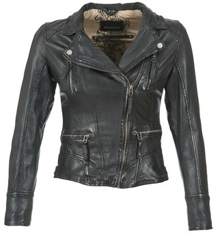 Oakwood CAMERA women's Leather jacket in Black