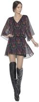 Lyla Wide Sleeve Blouson Dress
