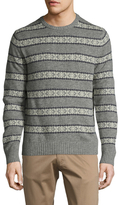 Brooks Brothers Fairislest Crewneck Sweater