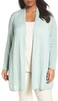 Nic+Zoe Plus Size Women's Islet Slub Knit Cardigan
