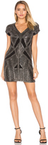 Karina Grimaldi Marinola Beaded Mini Dress