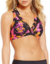 Antonio Melani Floral Surplice Top