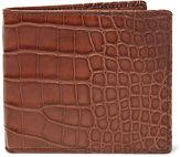 Ralph Lauren Burnished Alligator Wallet