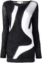 Stefano Mortari bicolour sweater