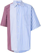 Marni short sleeve striped shirt