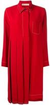 Marni pleated shirt dress