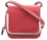 Carven Mini Leather Crossbody Bag