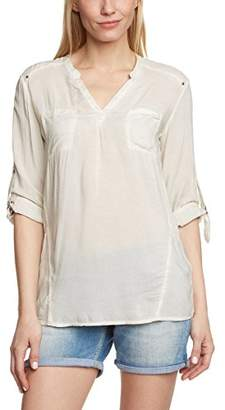 Mavi Jeans Women's Long Sleeve Blouse - Off-White