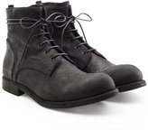 Officine Creative Suede Lace-Up Boots