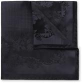 Dolce & Gabbana Floral Silk-Jacquard Pocket Square