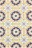 nuLoom Sevilla Tiles Indoor/ Outdoor Area Rug Hand-Hooked Rug