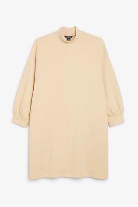 Monki Low-turtleneck sweater dress
