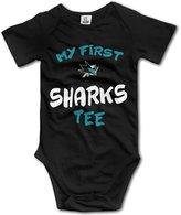Julia Dickens San Jose Sharks My First Tee Infant Baby Onesie Creeper