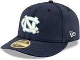 New Era Men's Navy North Carolina Tar Heels Logo Basic Low Profile 59FIFTY Fitted Hat