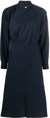 Isabel Marant Long-Sleeved Midi Dress