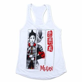 Disney Junior's Women's Mulan Live Action Warrior T-Shirt
