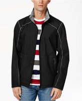 Point Zero Men's Reversible Full-Zip Weatherproof Stand-Collar Jacket