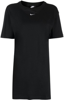 Nike logo-embroidered short-sleeve T-shirt