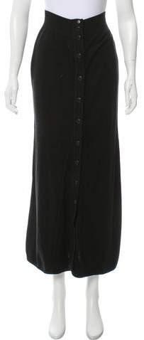 Chanel Knit Midi Skirt