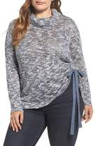 Vince Camuto Plus Size Women's Drawstring Side Sweater