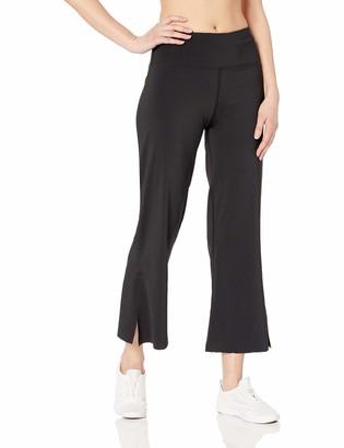 Betsey Johnson Women's Slit Hem Flare 7/8 Pant