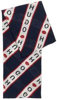HUGO BOSS Collection-themed scarf in modal and cotton