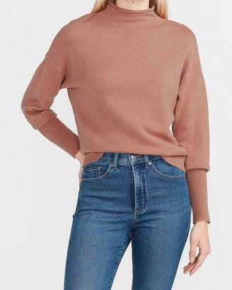 Express Supersoft Mock Neck Sweater