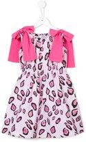 MSGM leopard print dress - kids - Cotton - 12 yrs