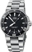 Oris 73376534154MB Aquis stainless steel watch