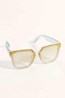 Free People Mack Mixed Metal Sunglasses