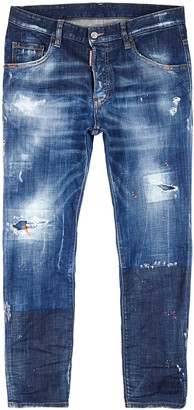 DSQUARED2 Skater Guy distressed skinny jeans