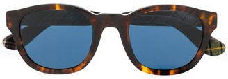 Polo Ralph Lauren Check Print Sunglasses