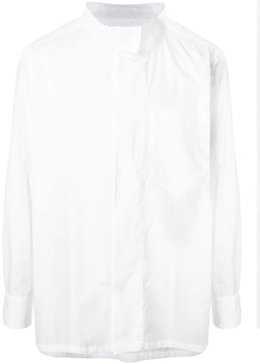 Kolor Funnel-Neck Loose Shirt