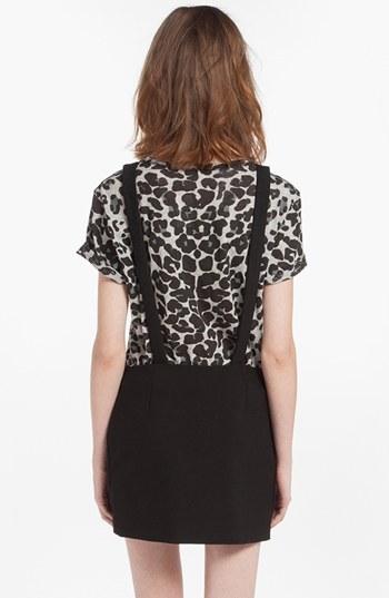 Maje 'Dinard' Faux Wrap Miniskirt