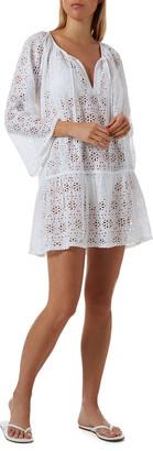 Melissa Odabash Corina Eyelet Coverup Dress