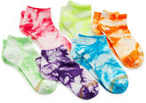 Gold Toe 6-pk. Tie-Dyed Socks - Girls