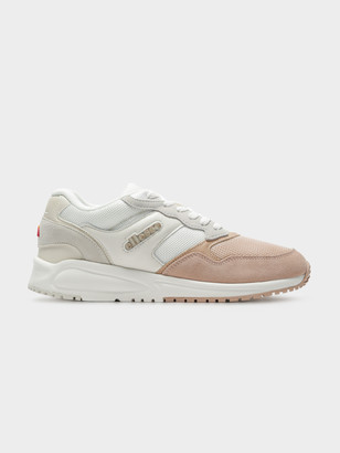 Ellesse Womens NYC84 Sneakers in Off White Beige