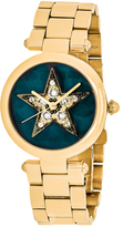 Marc Jacobs Cicely MJ3478 Women's Stainless Steel Watch with Crystal Accents