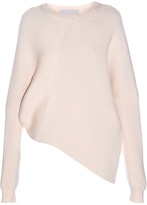 Stella McCartney Asymmetric long-sleeved ribbed sweater