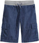 Epic Threads Chambray Cotton Shorts, Toddler Boys, Created for Macy's