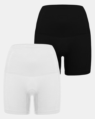 B Free Intimate Apparel 2 Pack Power Shaping Shorts
