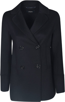 Max Mara The Cube Double-breasted Four Buttoned Blazer