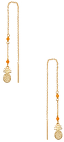 Chan Luu Pineapple Drop Earrings